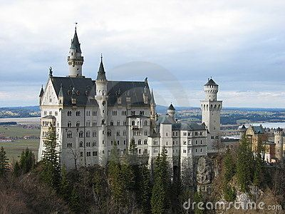 Neuschweinstein Castle - Germany Royalty Free Stock Image - Image: 605466