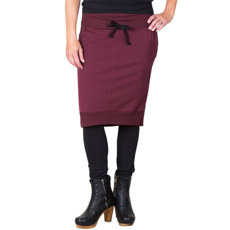 Perfect penny skirt - bordeaux