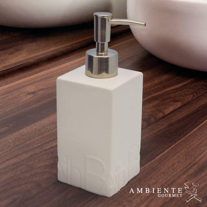 Ahora en Ambiente Gourmet podrás encontrar todo lo que necesitas para decorar tu baño con mucho estilo. Alamedas CC #Piensaenti