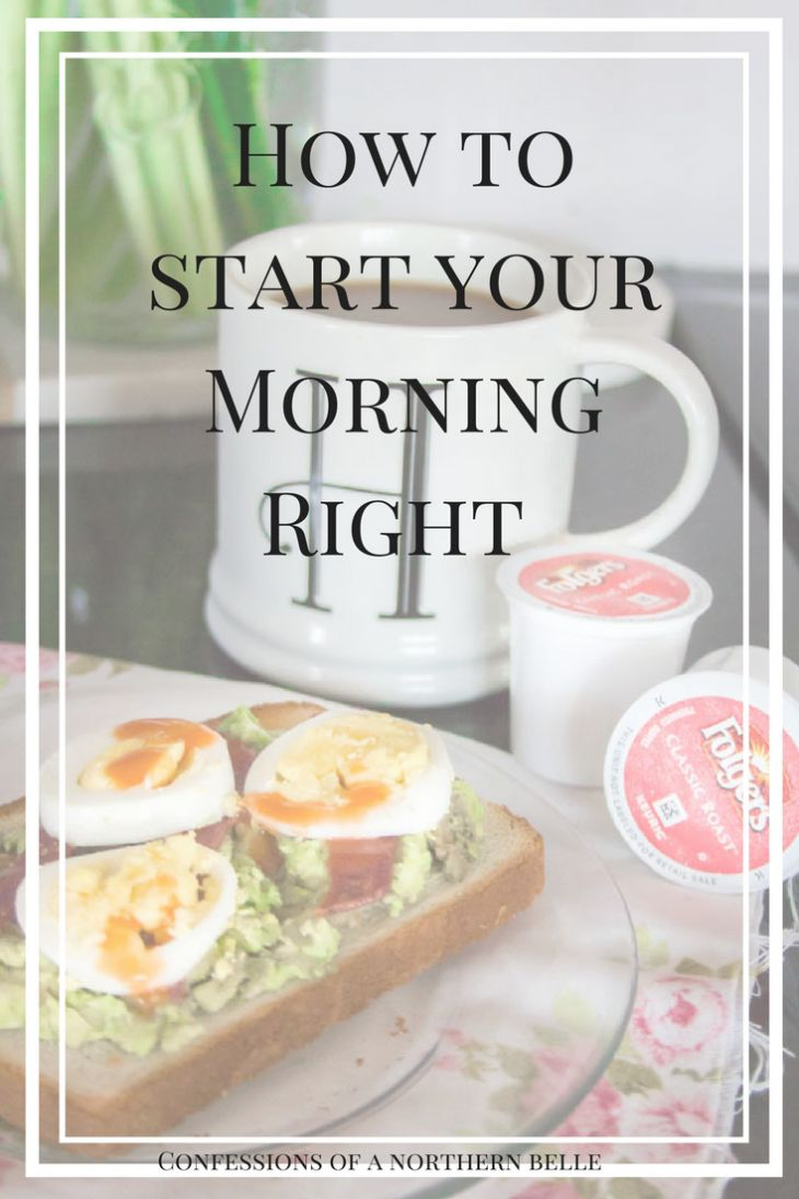 How to Start Your Mornings with Folgers Coffee and Easy Avocado Toast #ad #fromwhereIsip #alwaysthebestpart #folgers
