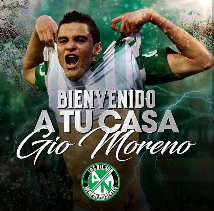 Bienvenido Gio Moreno a tu casa!