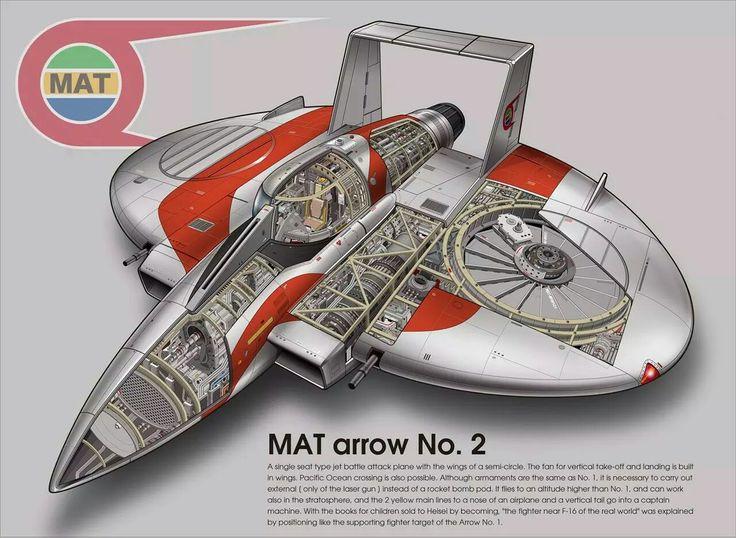 MATアロー2号『帰ってきたウルトラマン』