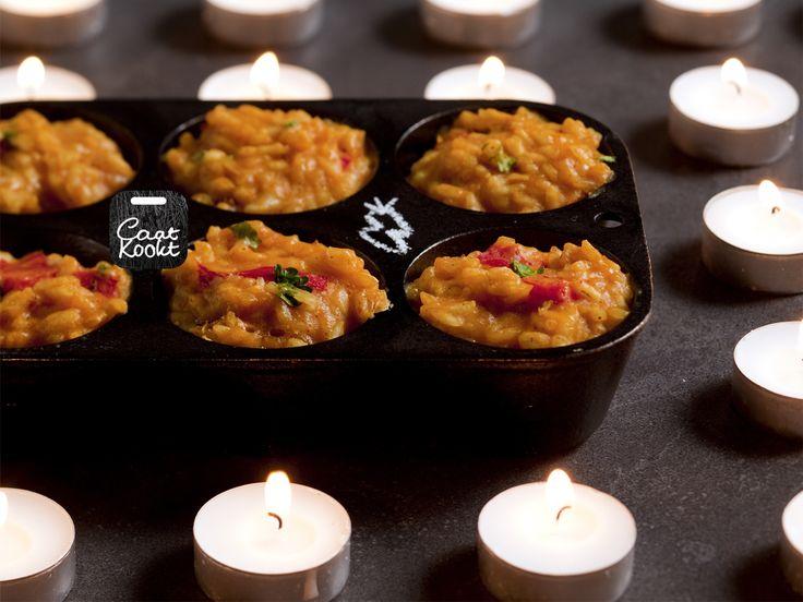 Moorse rijstkoekjes - Gooi je overgebleven rijst niet weg! Het Caatkookt NoWaste Kerst pakket.