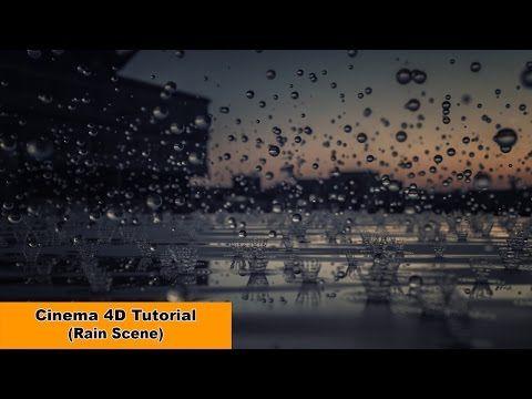 How to create rain scene in Cinema 4D | CG Tutorials library