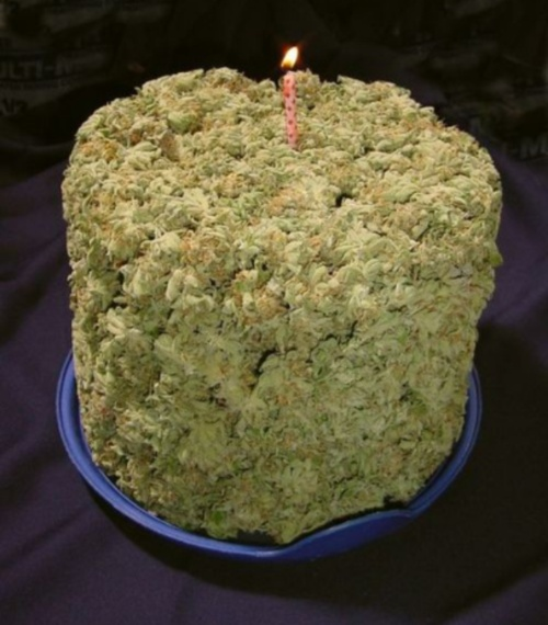 Weed cake.  My favorite kind.