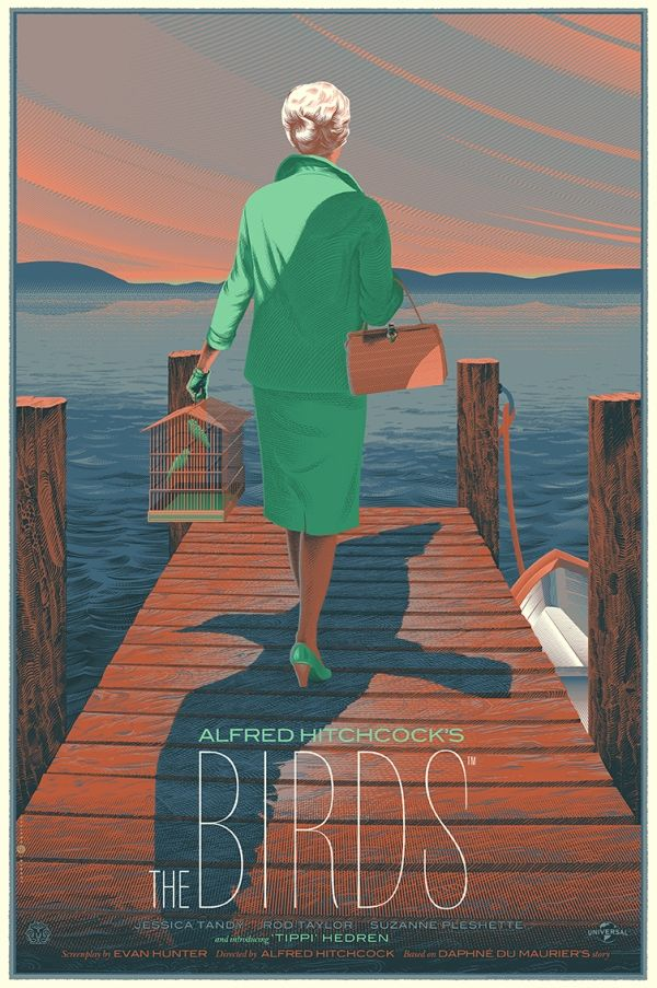 Belgian illustrator Laurent Durieux has created a collection of stunning graphic posters of famous movies.
