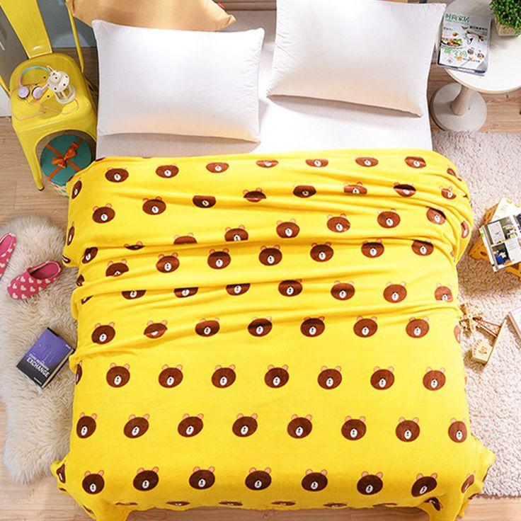 Cheap fleece Blankets for beds warm Travel Plane blanket plush minion plaid fluffy winter sleeping sofa blanket plaid bedspreads