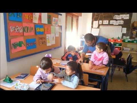 En clase de Geografía con la Guía apps Educación 3.0 en Busquístar