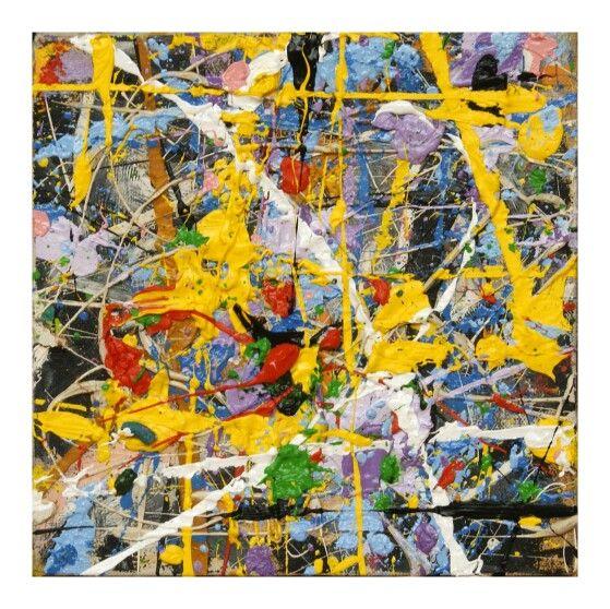 """Star"",40x25cm,oil on canvas,by Sam Radja,#abstractexpressionism"
