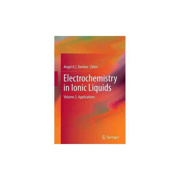 Electrochemistry in Ionic Liquids : Applications (Vol 2) (Reprint) (Paperback)