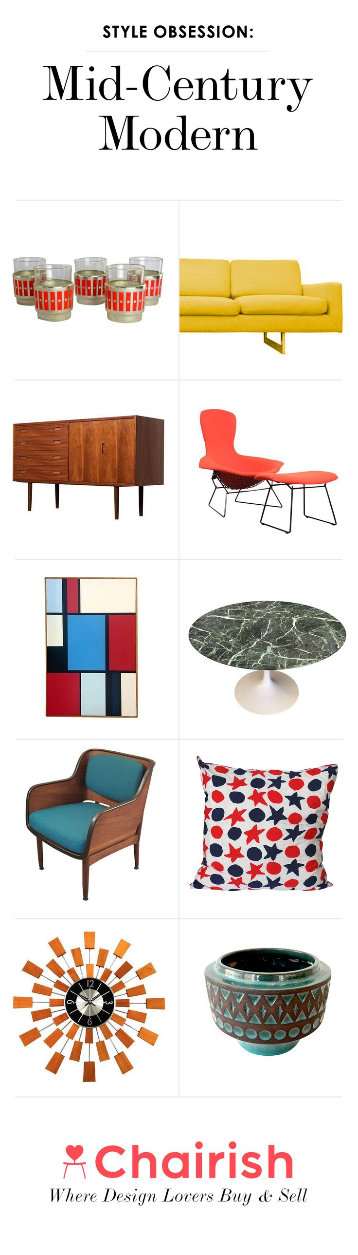17 best images about mid century modern on pinterest for Iconic mid century modern furniture