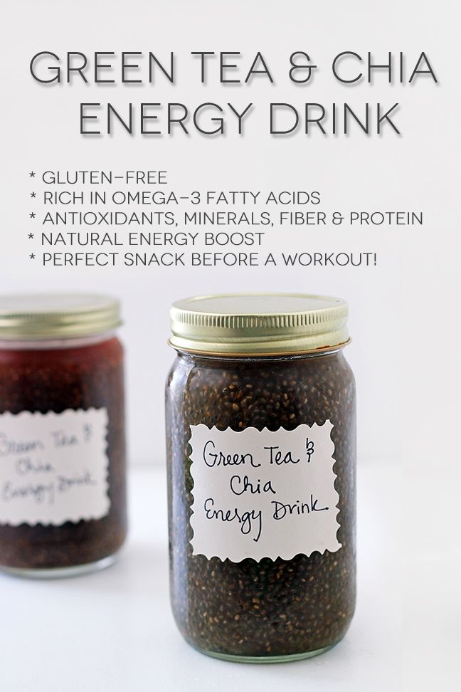 Green Tea and Chia Seed drink - I never thought about adding chia seeds to tea.  #kombucha  Also check out: http://kombuchaguru.com