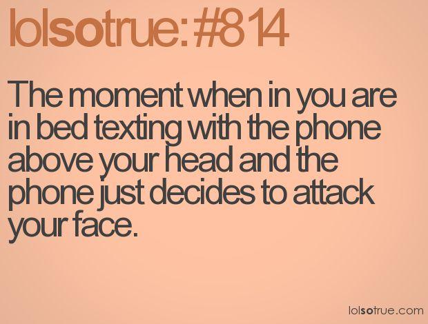 haha ya it does and hurts!