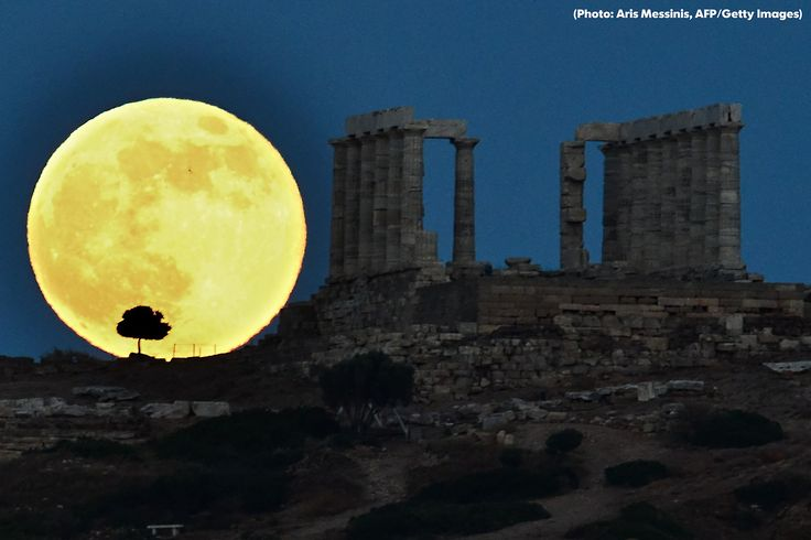 """The so-called """"Supermoon"""" is here! The full moon this weekend will be another Supermoon, the first of three to grace the sky this year. Since the moon is """"fullest"""" early Saturday morning, you can look for the Supermoon both Friday and Saturday nights."""