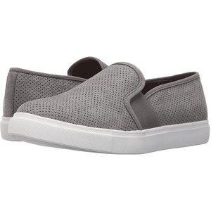 Steve Madden Evangel (Grey) Women's Slip on Shoes