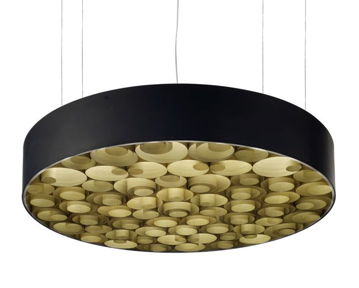 Spiro suspension lamp by Remedios Simon for LZF 03