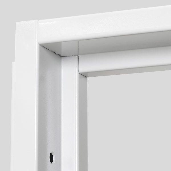 Puerta Acorazada #Thor20 Marcos: Blanco http://www.cabma.es/puertas-seguridad/thor-20/