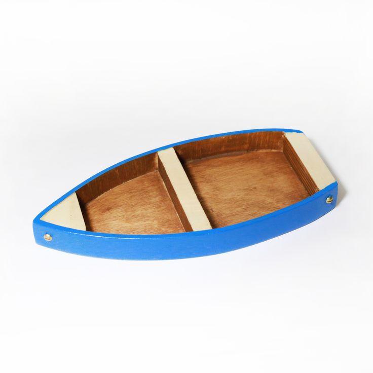 Łódeczka Wooden boat - Aprideco