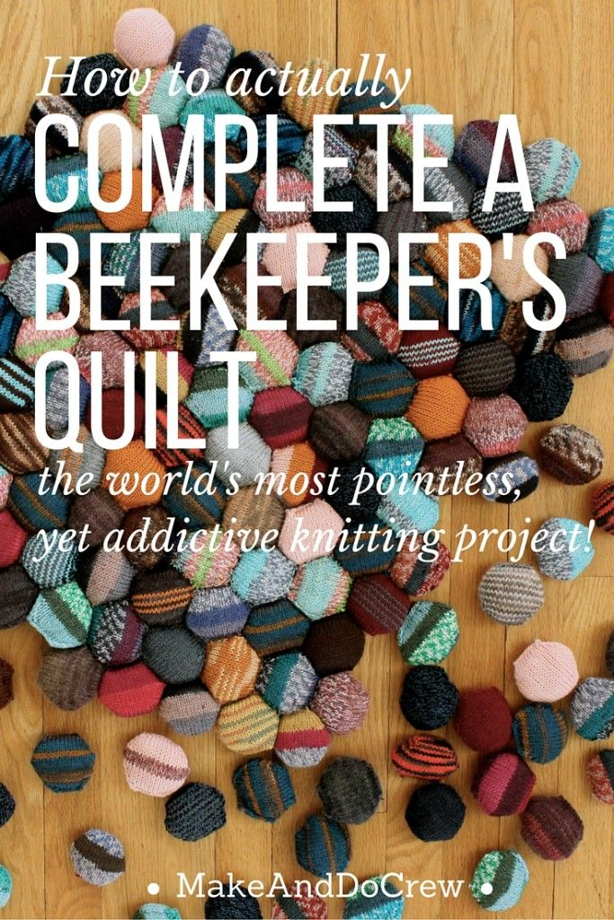 Beekeeper S Quilt Knitting Patterns : The beekeeper s quilt is finished knit patterns yarns