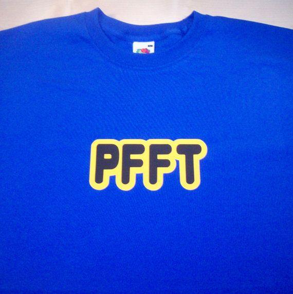 Pfft tshirt by GelertDesign on Etsy, £12.00