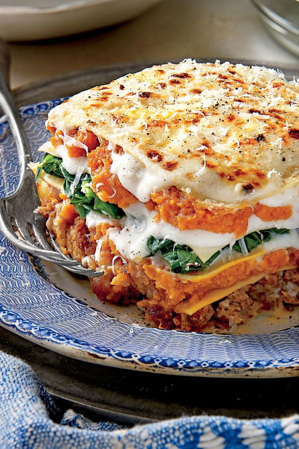 Pumpkin-and-Turnip Green Lasagna