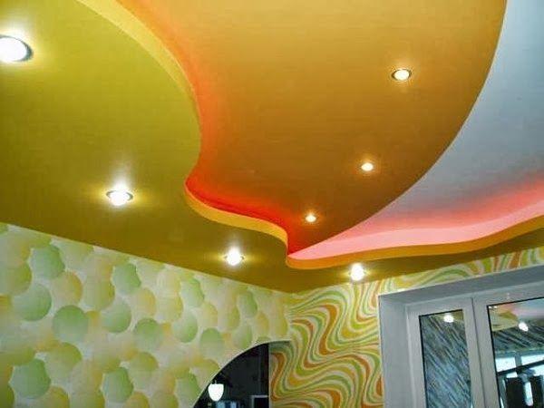 gypsum false ceiling designs for living room, ceiling lighting