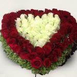 Mira Estas Hermosas Rosas Rojas Y Blancas Para Regalar