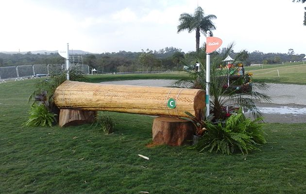 Check out our fence by fence photos from the Rio Olympics cross-country course, designed by Pierre Michelet