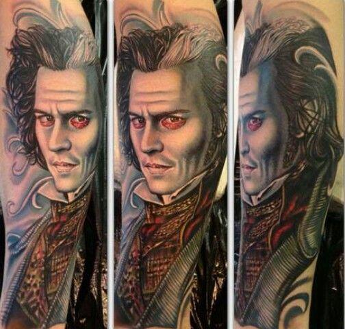 Sweeney todd tattoo inklife tattoofreak tattoos for Sweeney todd tattoo
