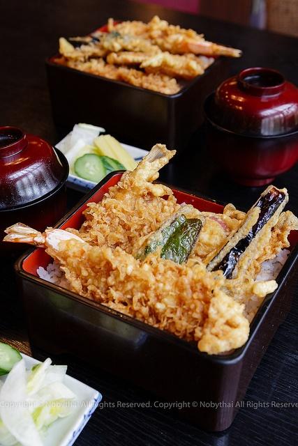 Tendon - tempura bowl