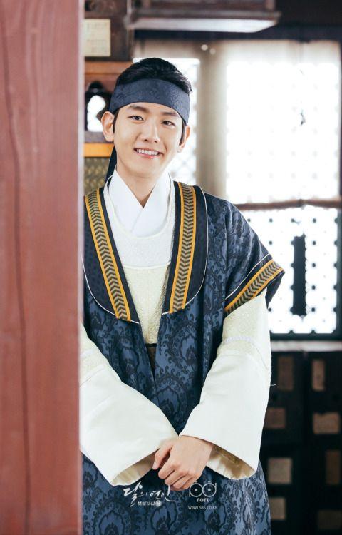 Baekhyun - 160902 SBS 'Scarlet Heart: Ryeo' website update Credit: SBS. (SBS…
