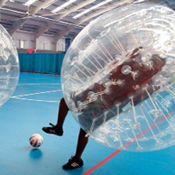 Bubble Football in Birmingham - This stag do, stag weekend and stag party activity is a crazy, fun and something out of the ordinary in Birmingham! For more information on this package visit http://www.stagweekends.co.uk/ or call 01773 766051.
