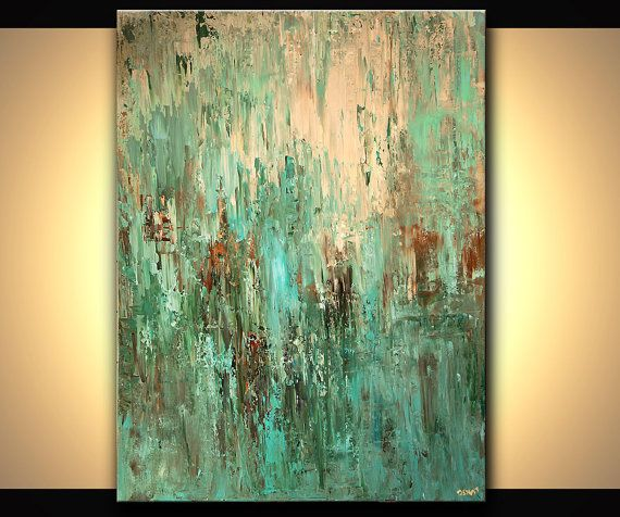 48 original abstract acrylic painting palette knife for How to paint with a palette knife with acrylics