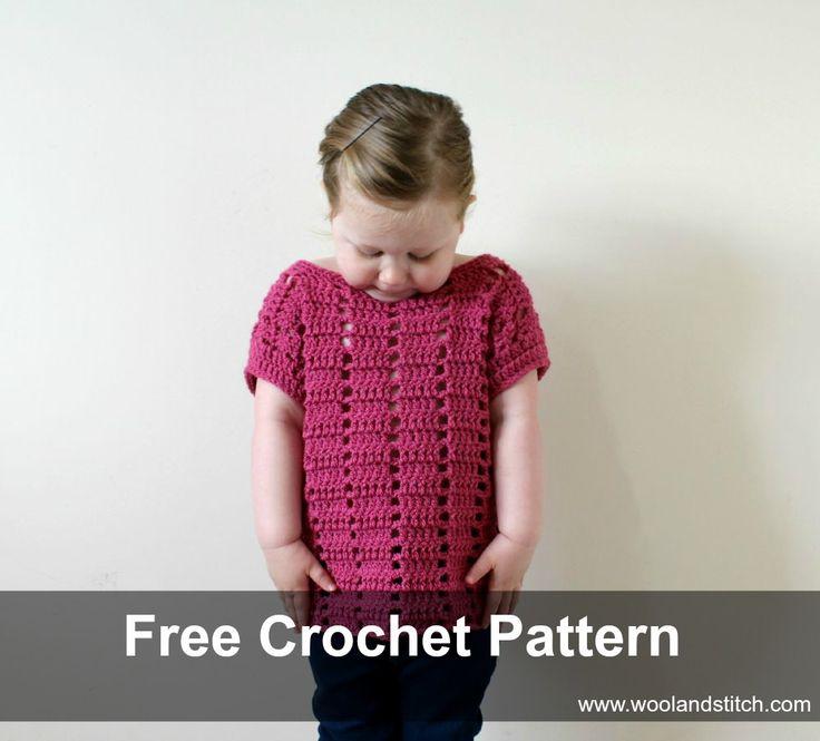 Free Crochet Pattern - Mini Kids Summer Dash Top