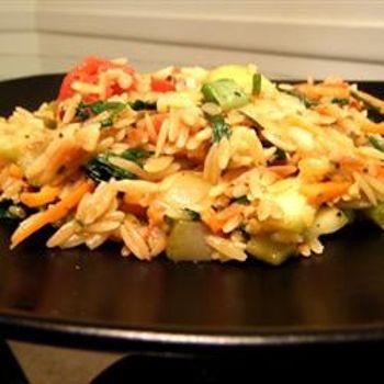 Vegetarian Lime Orzo | Vegetarian | Pinterest