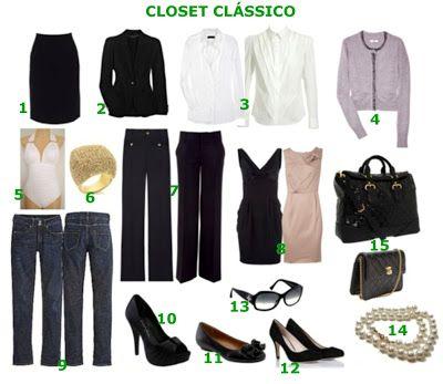 Saiba como montar um guarda-roupas básico e elegante.COISAS DE NATALIECoisas de Natalie