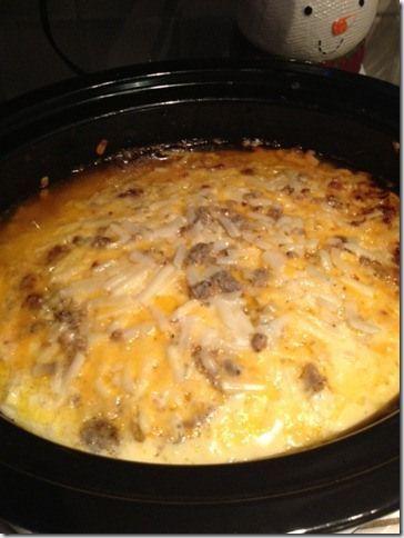 Crock Pot Breakfast Scramble Recipe