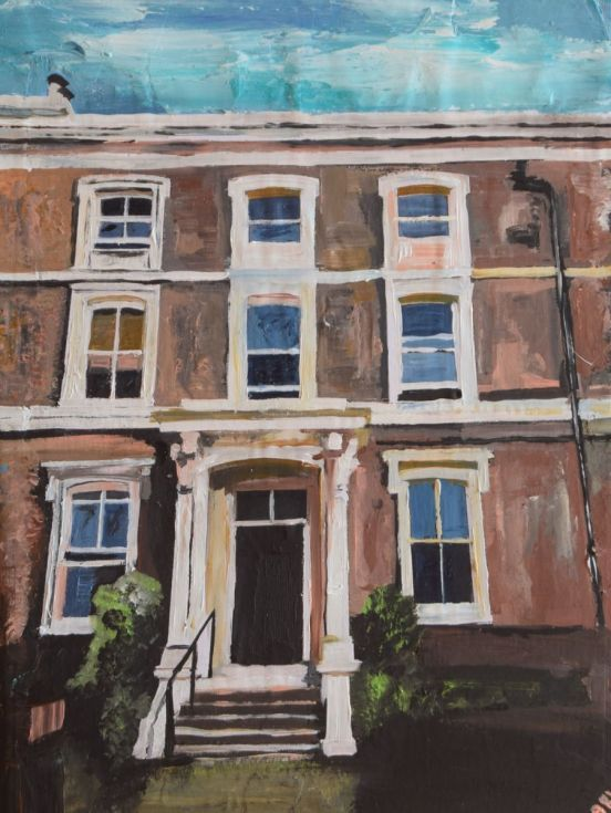 Buy House, London, Acrylic painting by Andrew  Reid Wildman on Artfinder. Discover thousands of other original paintings, prints, sculptures and photography from independent artists.