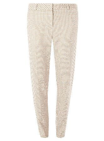 Dorothy Perkins Womens **Tall Stone Dogstooth Trousers- White Tall stone dogstooth trouser.Leg length approx 83cm. 81% Polyester,17% Viscose,2% Elastane. Machine washable. http://www.MightGet.com/january-2017-13/dorothy-perkins-womens-tall-stone-dogstooth-trousers-white.asp