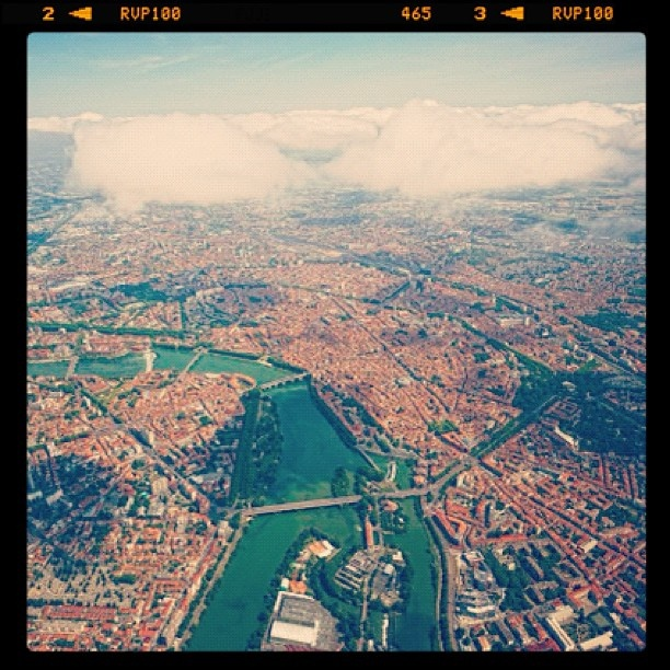Toulouse, from the sky.