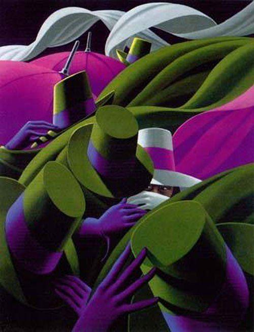 Claude Théberge ~ The Umbrellas | Tutt'Art@ | Pittura * Scultura * Poesia * Musica |