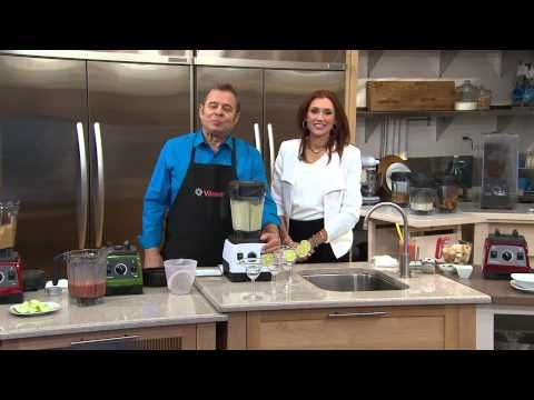 Vitamix 7500 64 oz. 13-in-1 Under Cabinet Variable Speed Blender with Albany Irvin - YouTube
