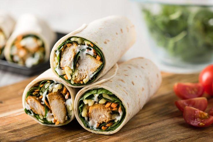 Tandoori Chicken Wrap Recipe! #DeliciousChickenWrap