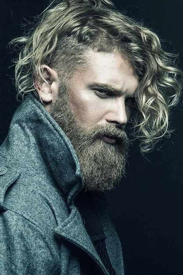 The Collection Of The Best Undercut Long Hair Styles With Tips Undercut Long Hair Curly Hair Men Mens Hairstyles Undercut