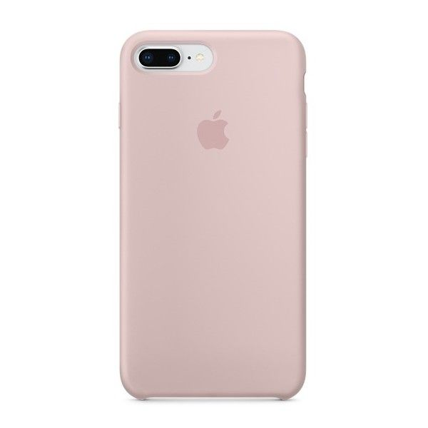 iPhone 8 Plus 7 Plus Silicone Case Pink Sand ($65) ❤ liked on Polyvore featuring accessories and tech accessories