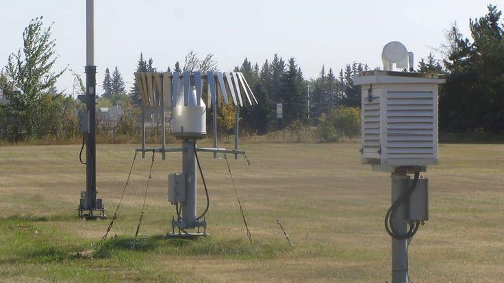 Estación meteorológica profesional del Gobierno de Canadá, Wynyard, Sask...
