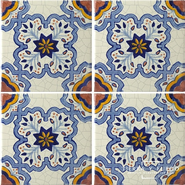 vintage spanish tile.