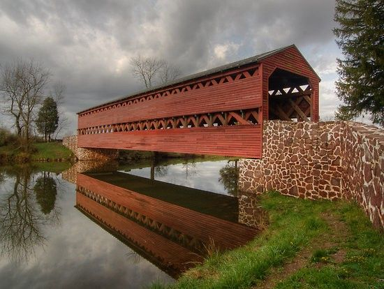 Gettysburg Covered Bridge | Most Beautiful Pages