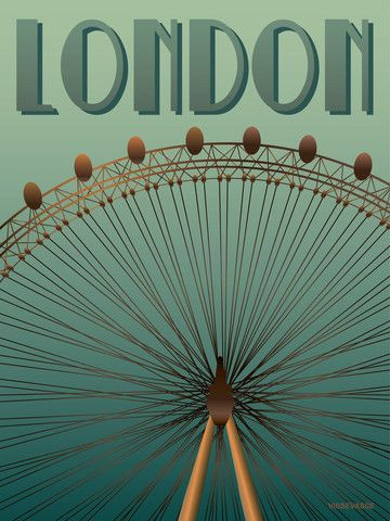 LONDON Eye – Vissevasse