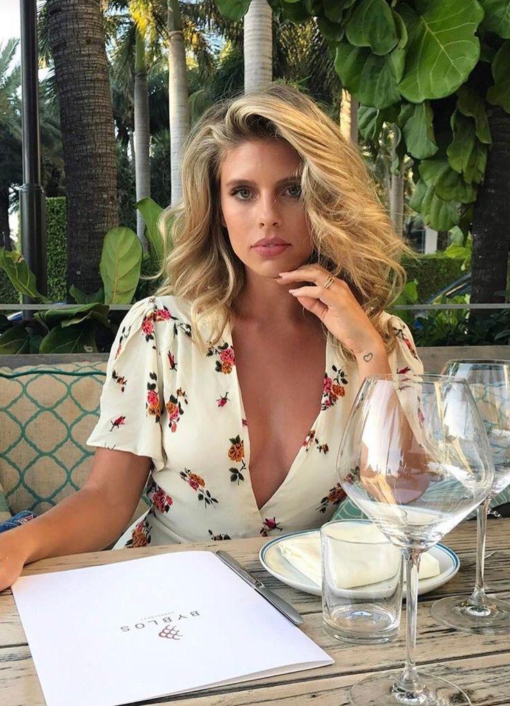 Tash Oakley beauty A Bikini A Day Swimwear Model
